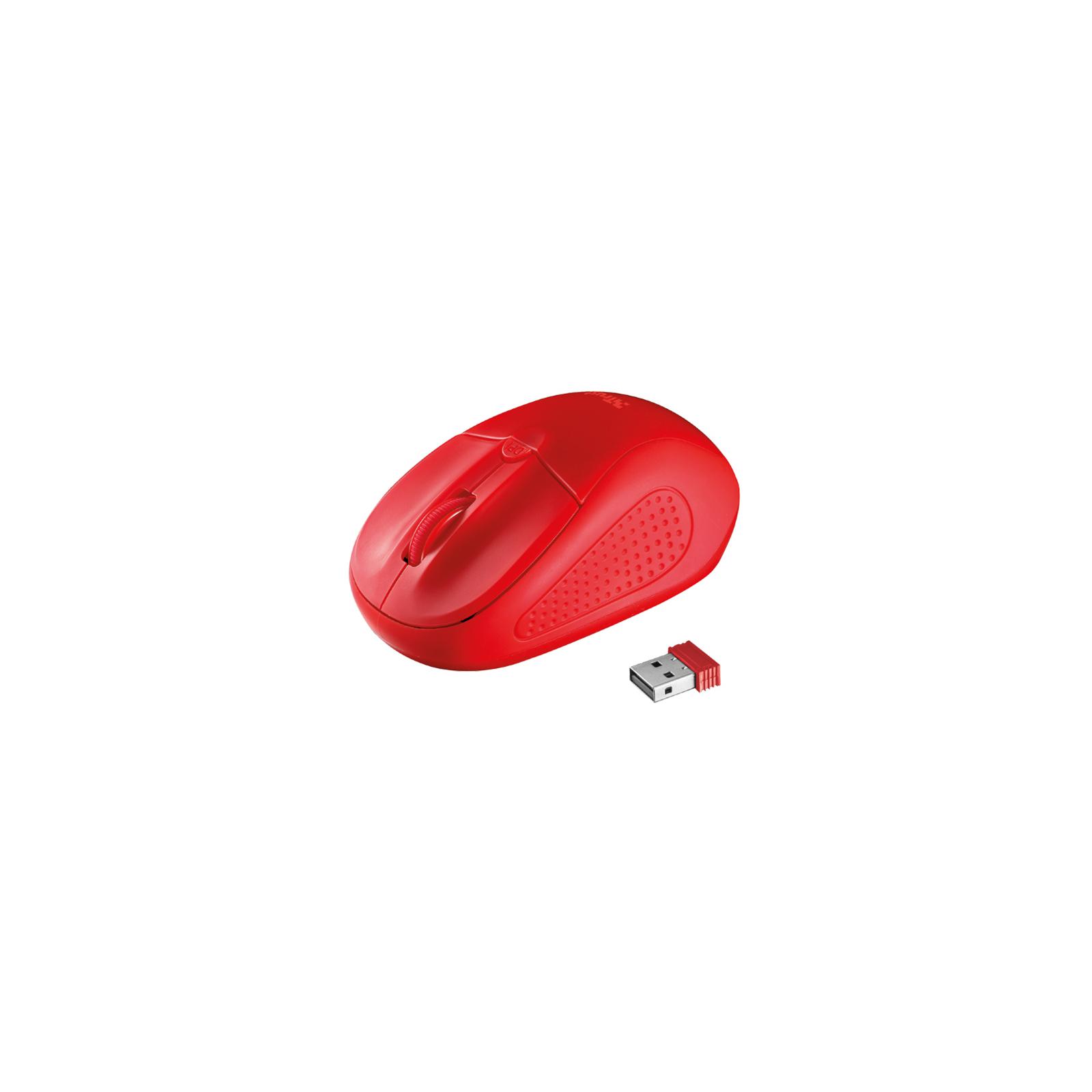 Мышка Trust Primo Wireless Mouse Red (20787)