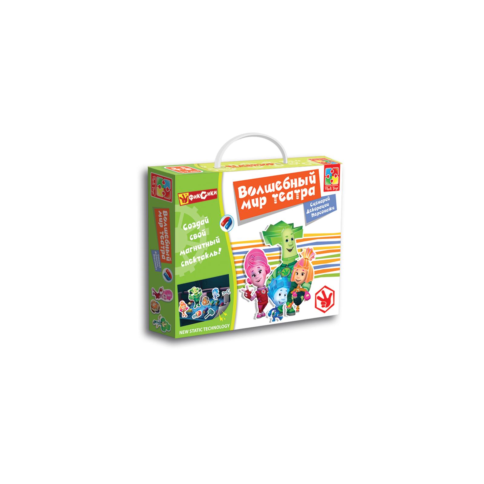 Настольная игра Vladi Toys Волшебный мир театра Фиксики (VT3207-02)