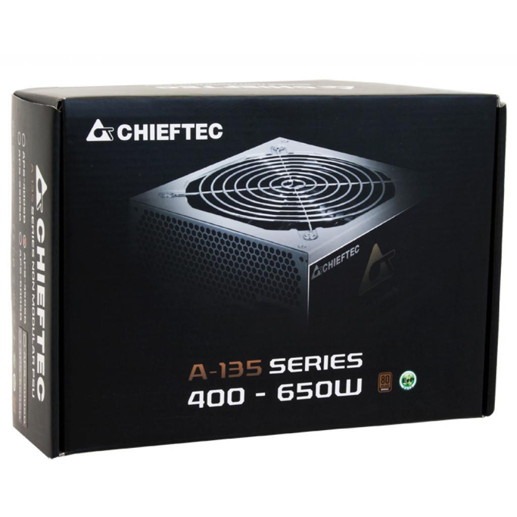 Блок питания CHIEFTEC 550W (APS-550SB) изображение 5