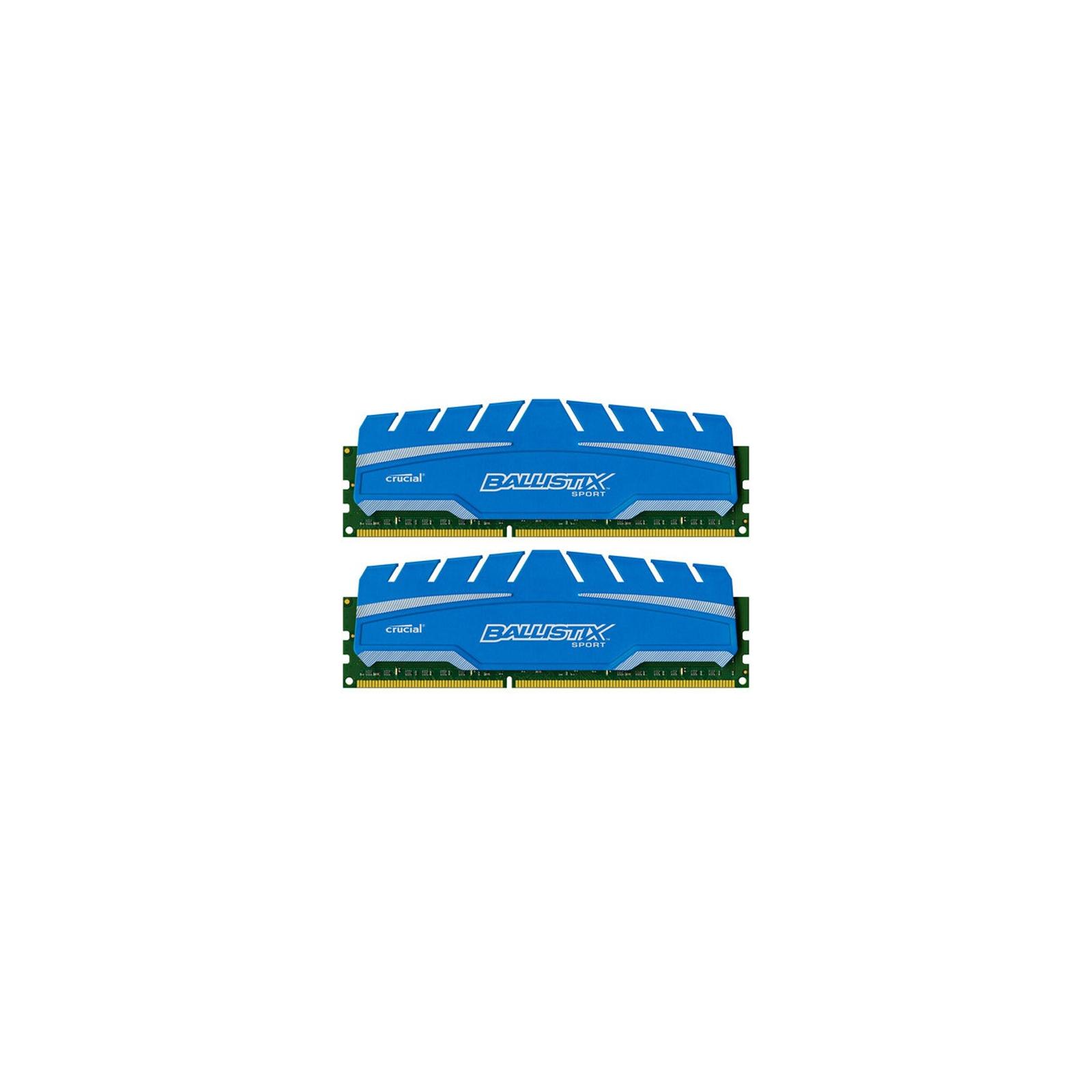 Модуль памяти для компьютера DDR3 8GB (2x4GB) 1600 MHz Ballistix Sport XT MICRON (BLS2C4G3D169DS3CEU)