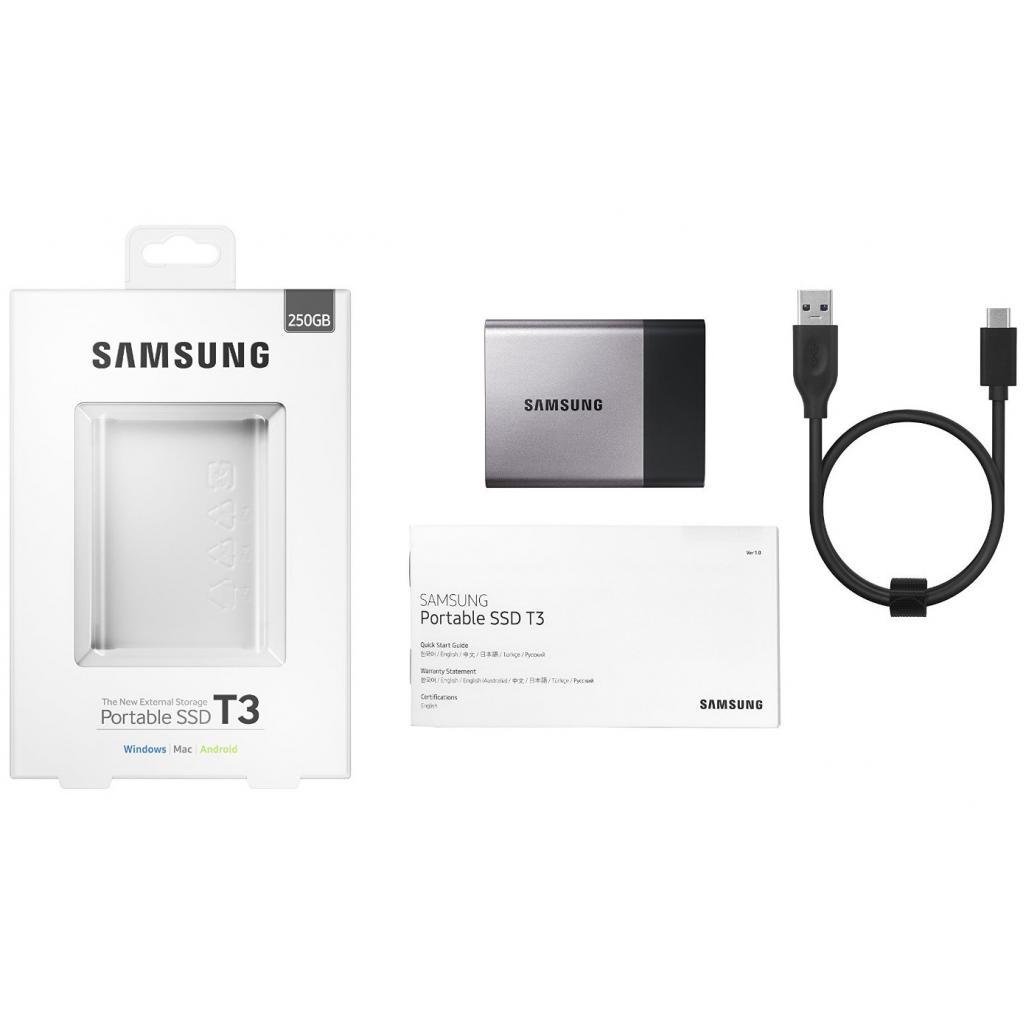 Накопитель SSD USB 3.0 250GB Samsung (MU-PT250B/EU) изображение 10