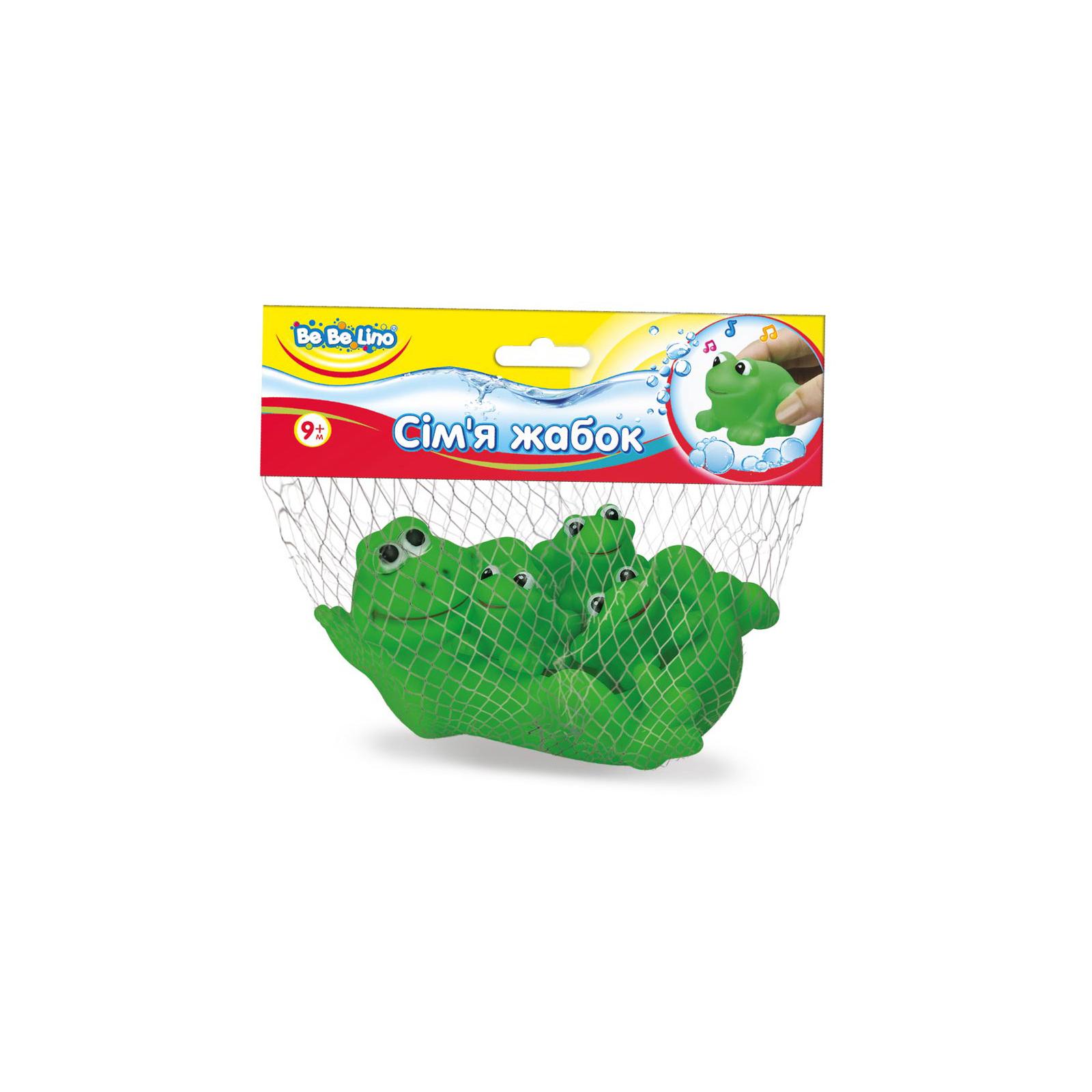 Игрушка для ванной BeBeLino Семья жабок (57091)