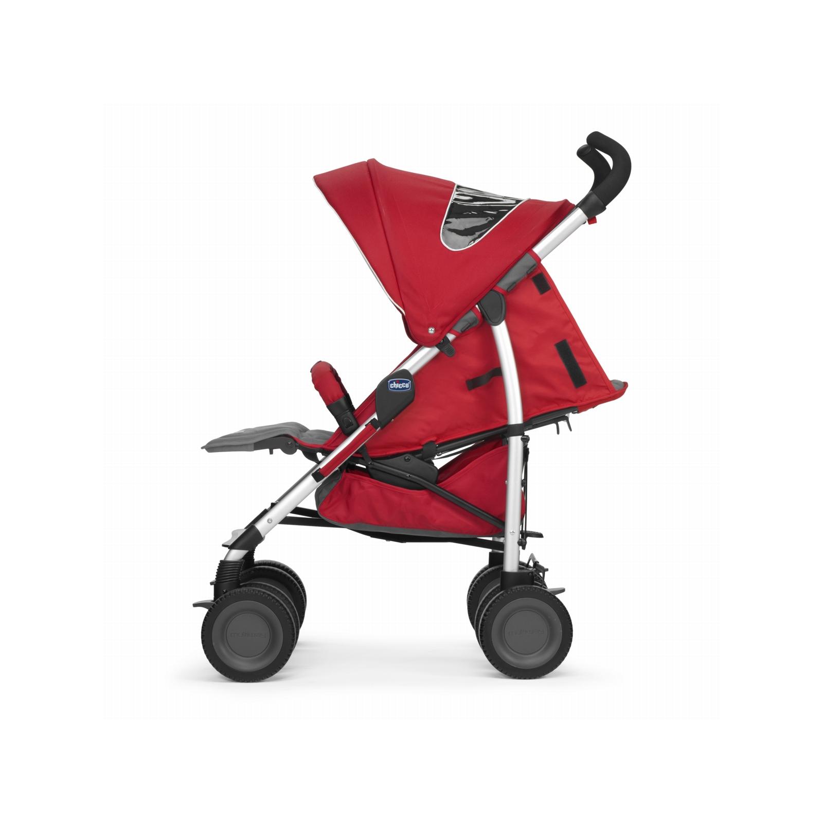 Коляска Chicco Multiway Evo Stroller Red (79315.70) изображение 4