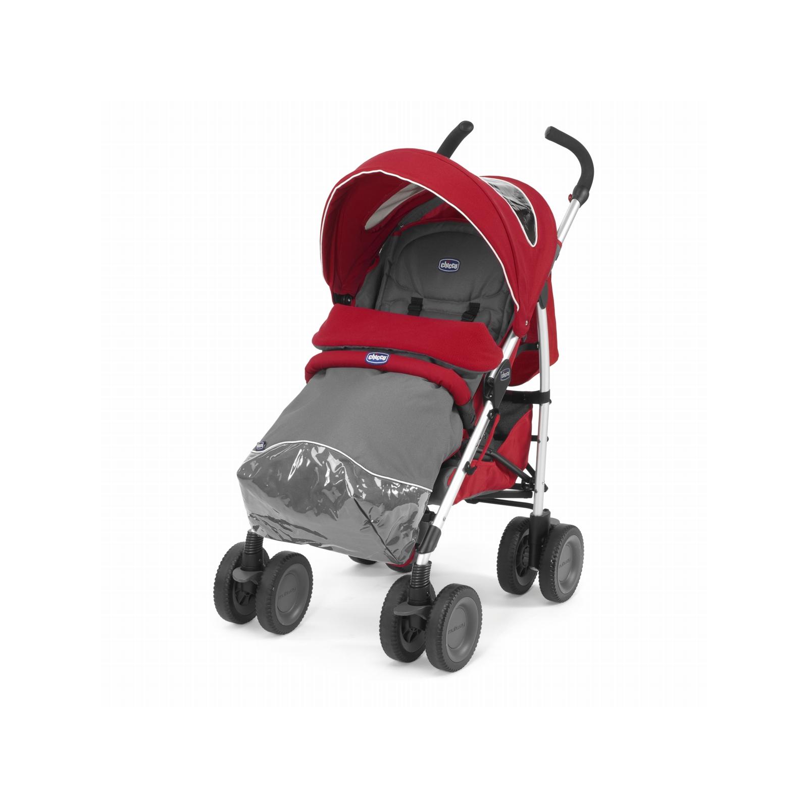 Коляска Chicco Multiway Evo Stroller Red (79315.70) изображение 5