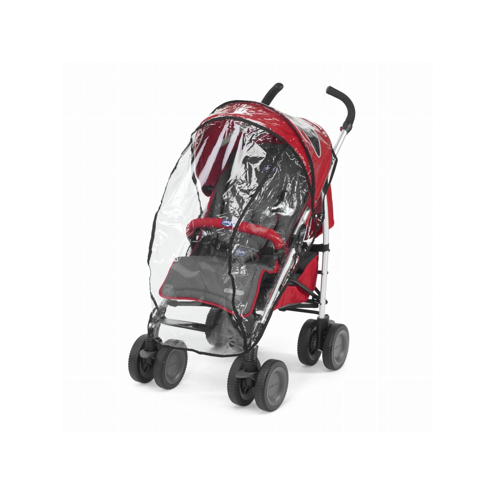Коляска Chicco Multiway Evo Stroller Red (79315.70) изображение 6