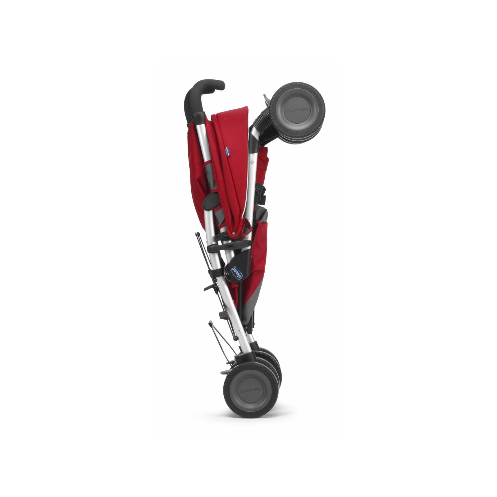 Коляска Chicco Multiway Evo Stroller Red (79315.70) изображение 8