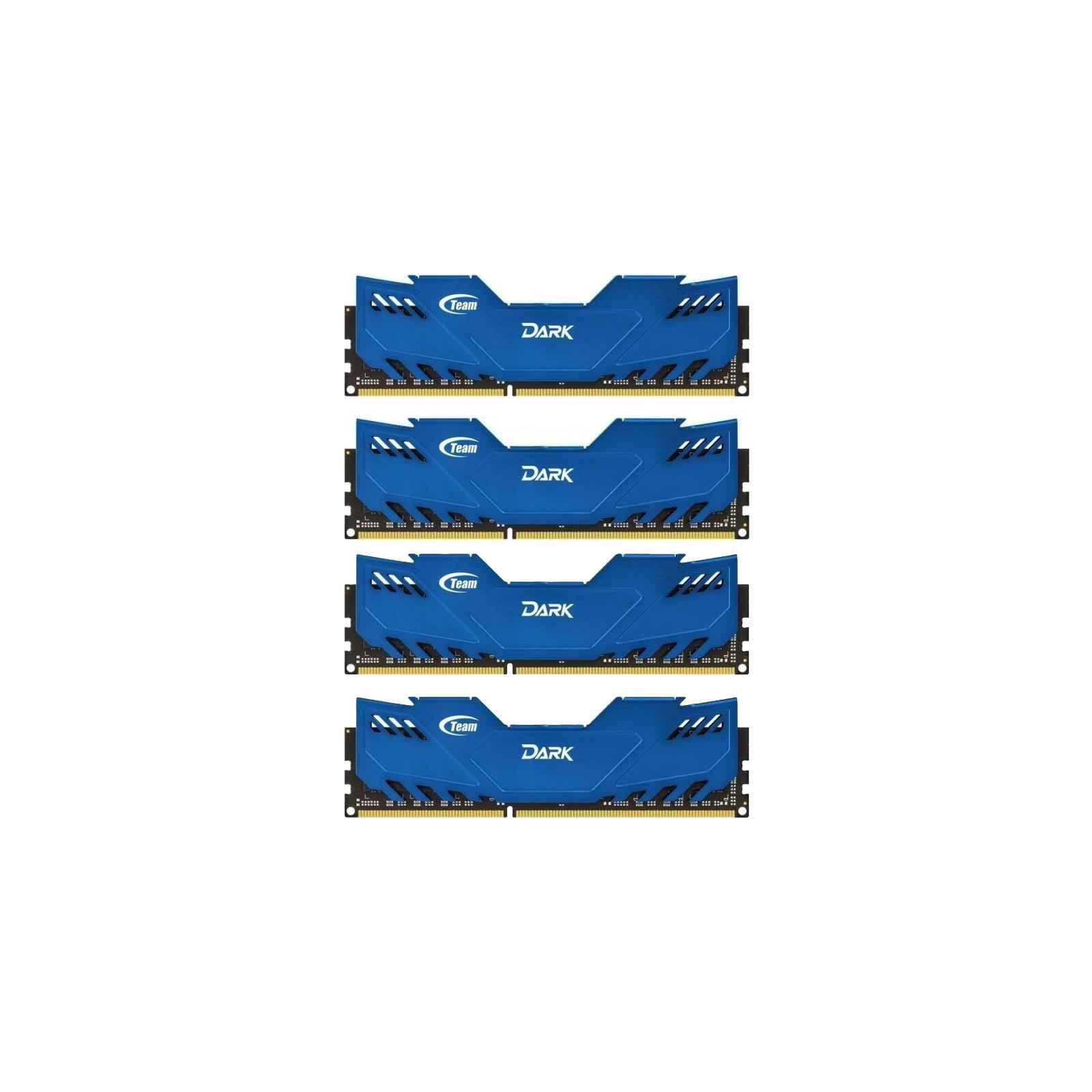 Модуль памяти для компьютера DDR4 32GB (4x8GB) 2666 MHz Dark Blue Team (TDBED432G2666HC15AQC01)