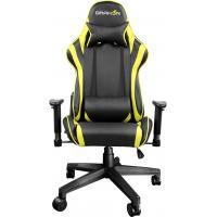 Кресло игровое Raidmax Black/Yellow (DK706YE)