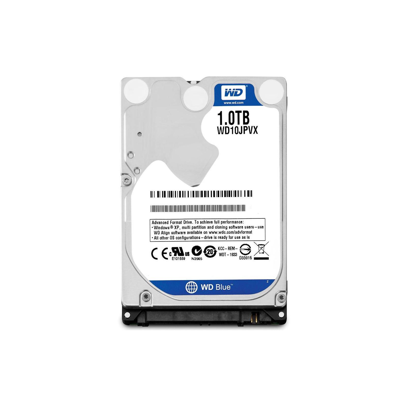 """Жесткий диск для ноутбука 2.5"""" 1TB WD (#WD10JPVX-FR#)"""