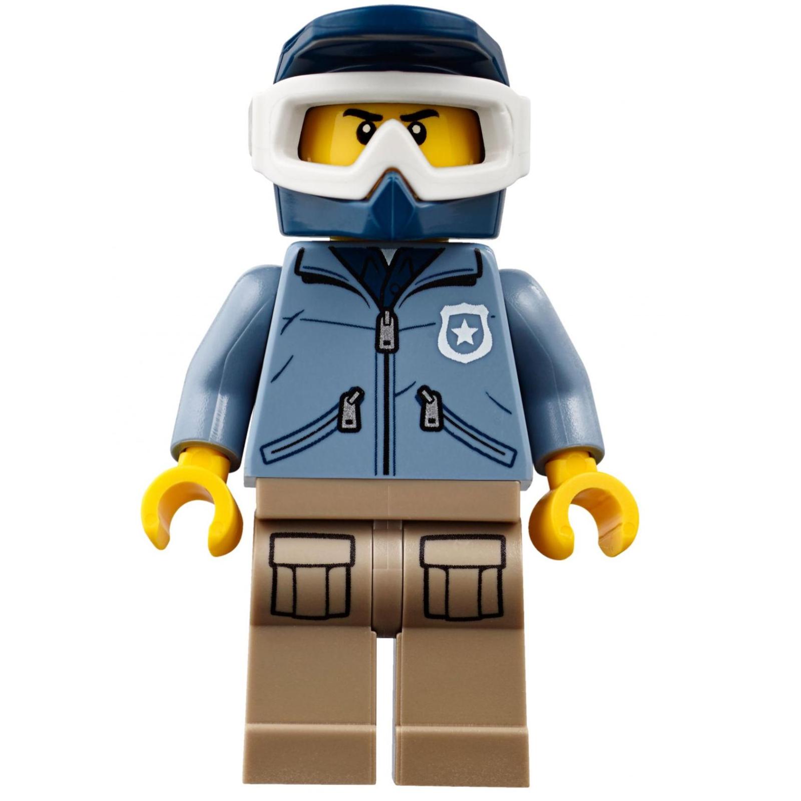 Конструктор LEGO City Police Штаб-квартира горной полиции (60174) изображение 11