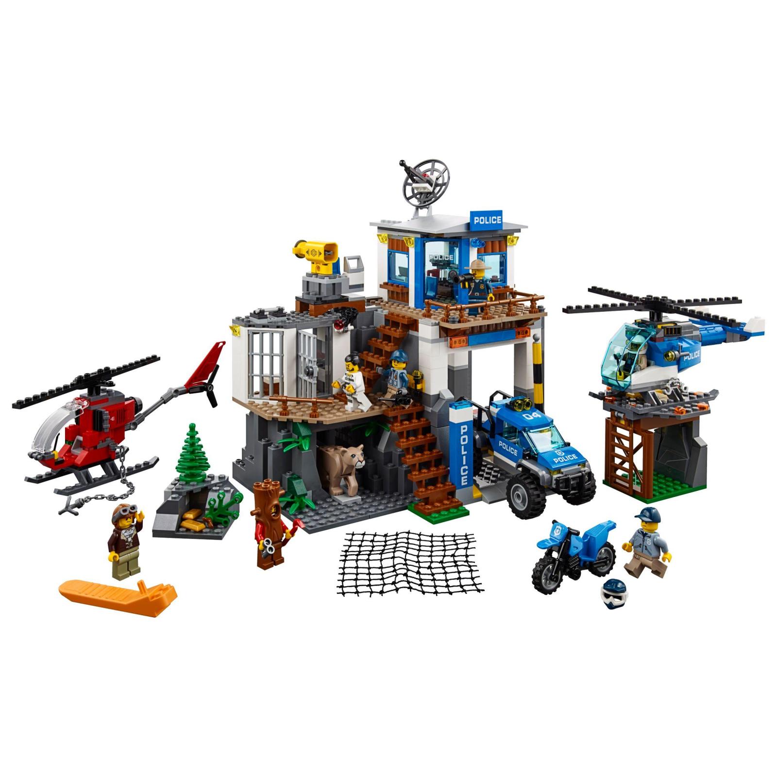 Конструктор LEGO City Police Штаб-квартира горной полиции (60174) изображение 2