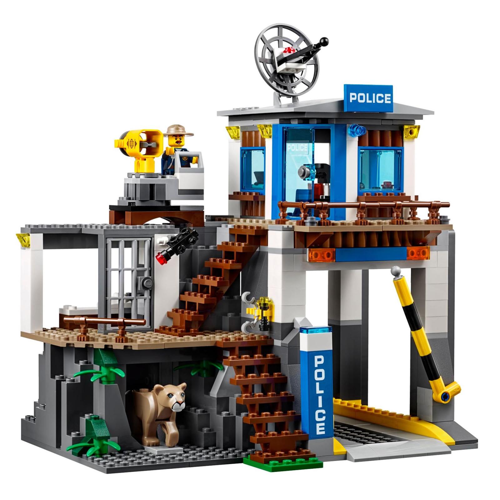 Конструктор LEGO City Police Штаб-квартира горной полиции (60174) изображение 3