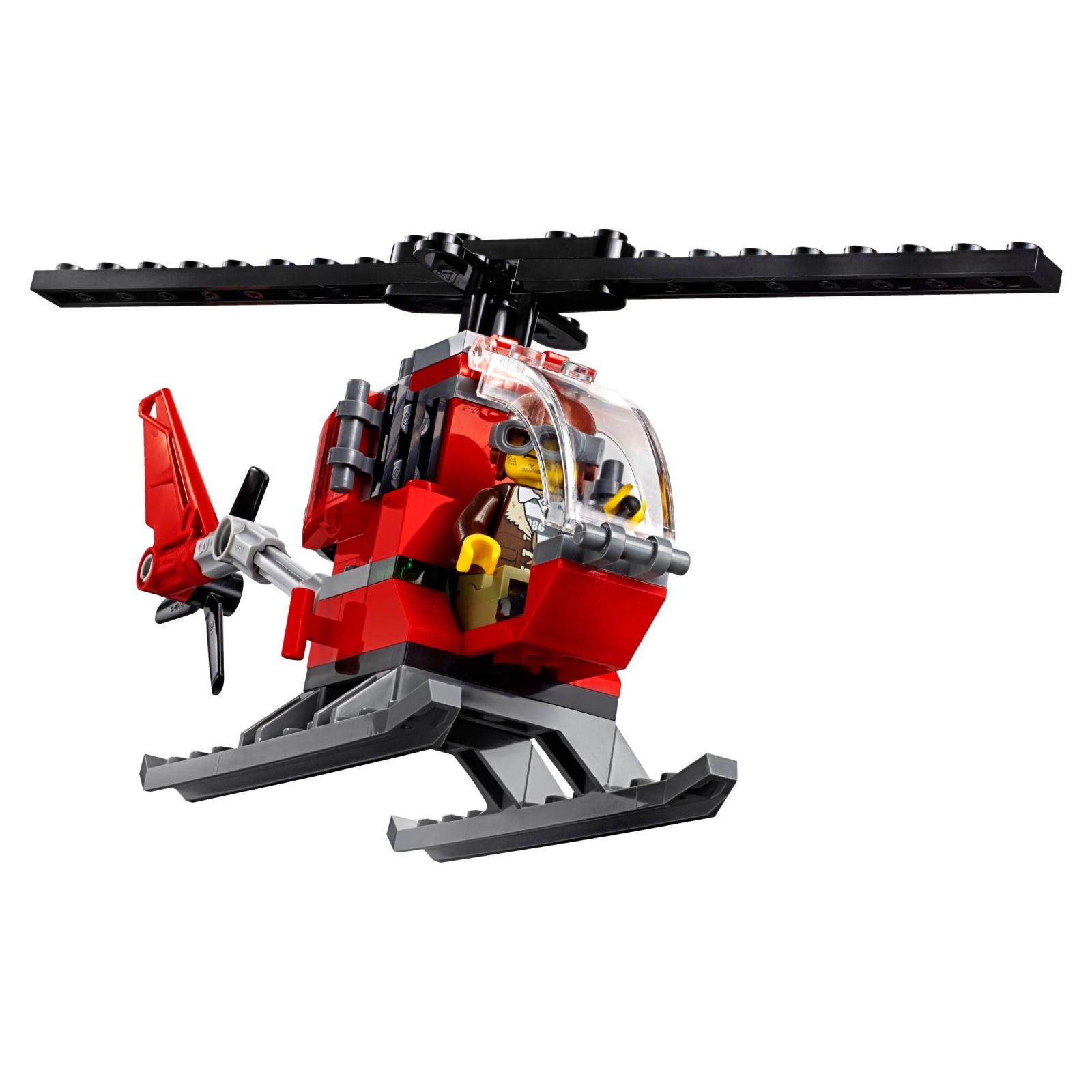Конструктор LEGO City Police Штаб-квартира горной полиции (60174) изображение 5
