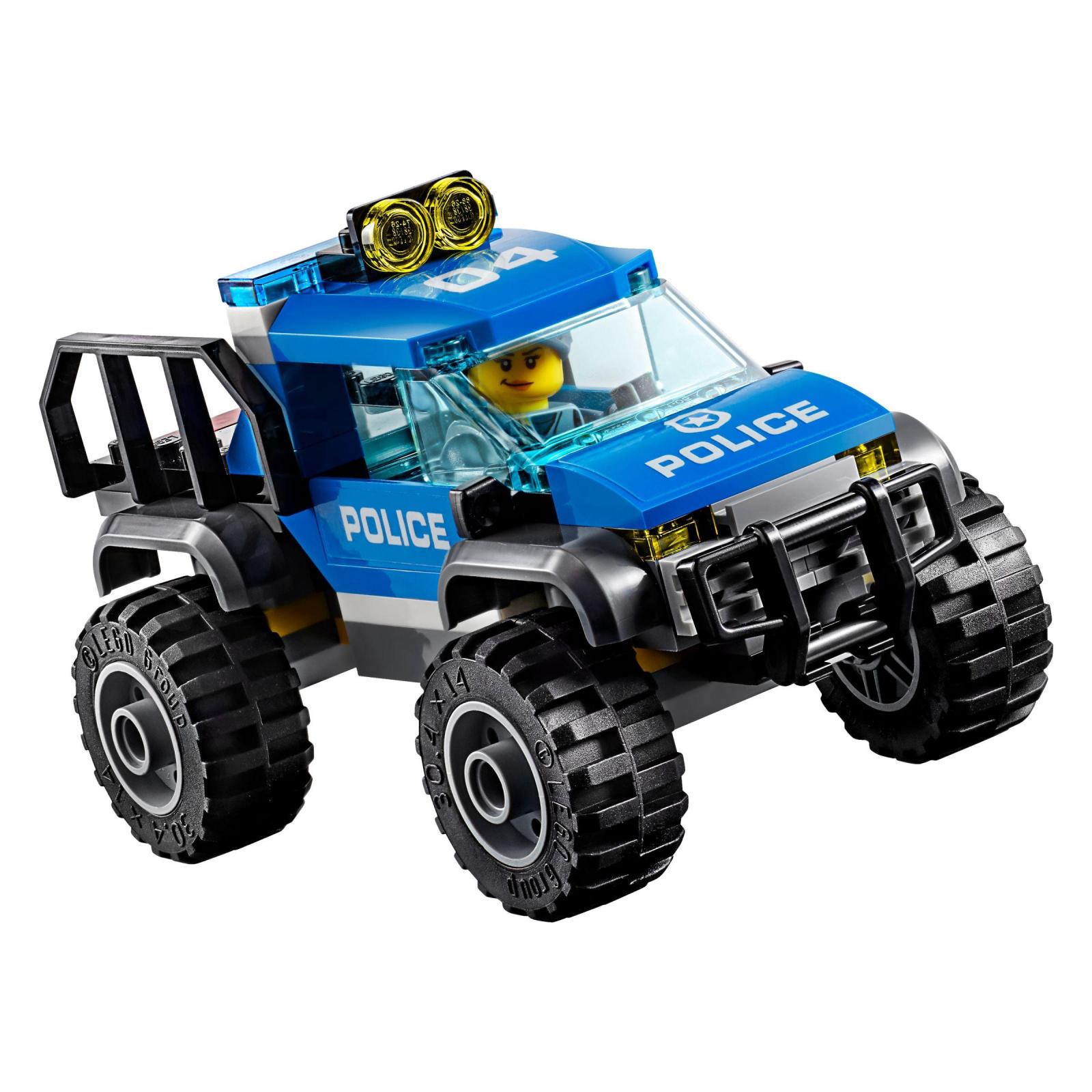 Конструктор LEGO City Police Штаб-квартира горной полиции (60174) изображение 6