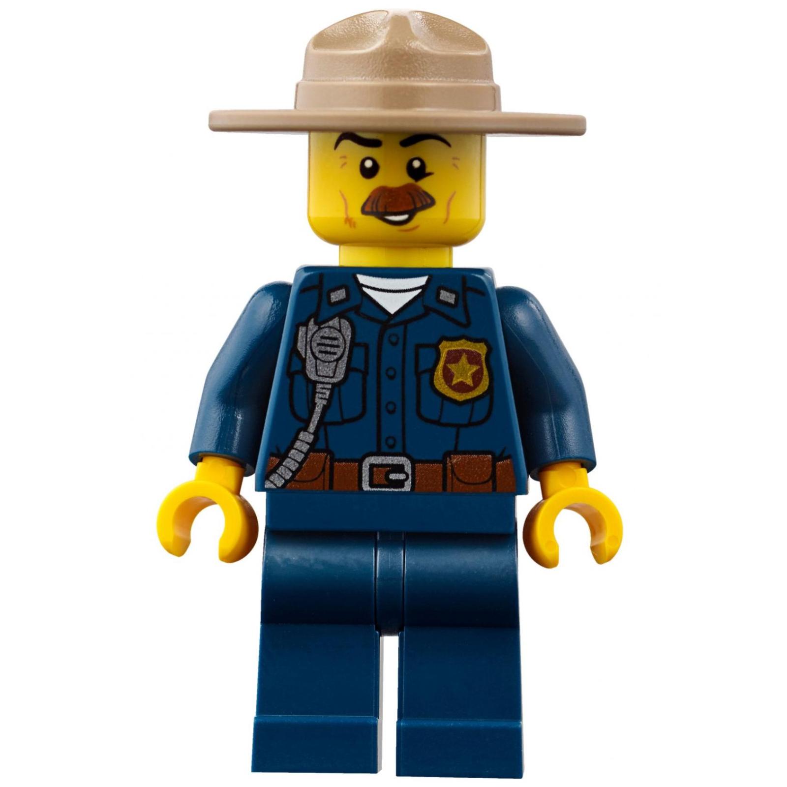 Конструктор LEGO City Police Штаб-квартира горной полиции (60174) изображение 9