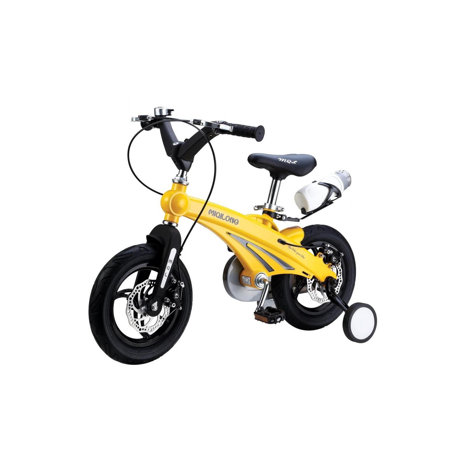 Детский велосипед Miqilong GN Желтый 12` (MQL-GN12-Yellow)