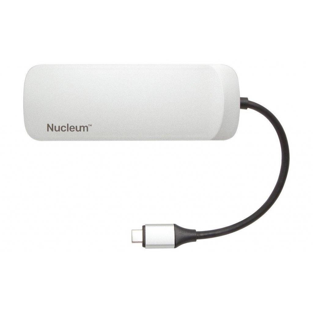 Концентратор Kingston Nucleum USB-C (C-HUBC1-SR-EN) изображение 3