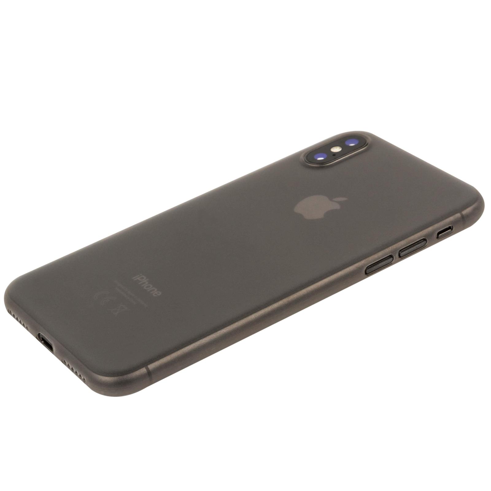 Чехол для моб. телефона MakeFuture Ice Case (PP) для Apple iPhone X Grey (MCI-AIXGR) изображение 3