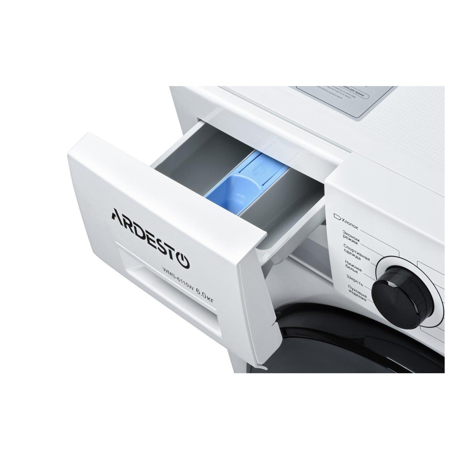 Стиральная машина Ardesto WMS-6115W изображение 4
