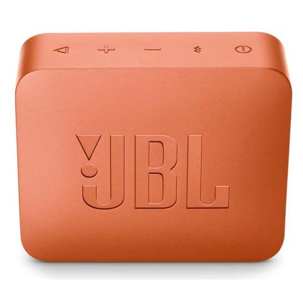 Акустическая система JBL GO 2 Orange (JBLGO2ORG) изображение 2