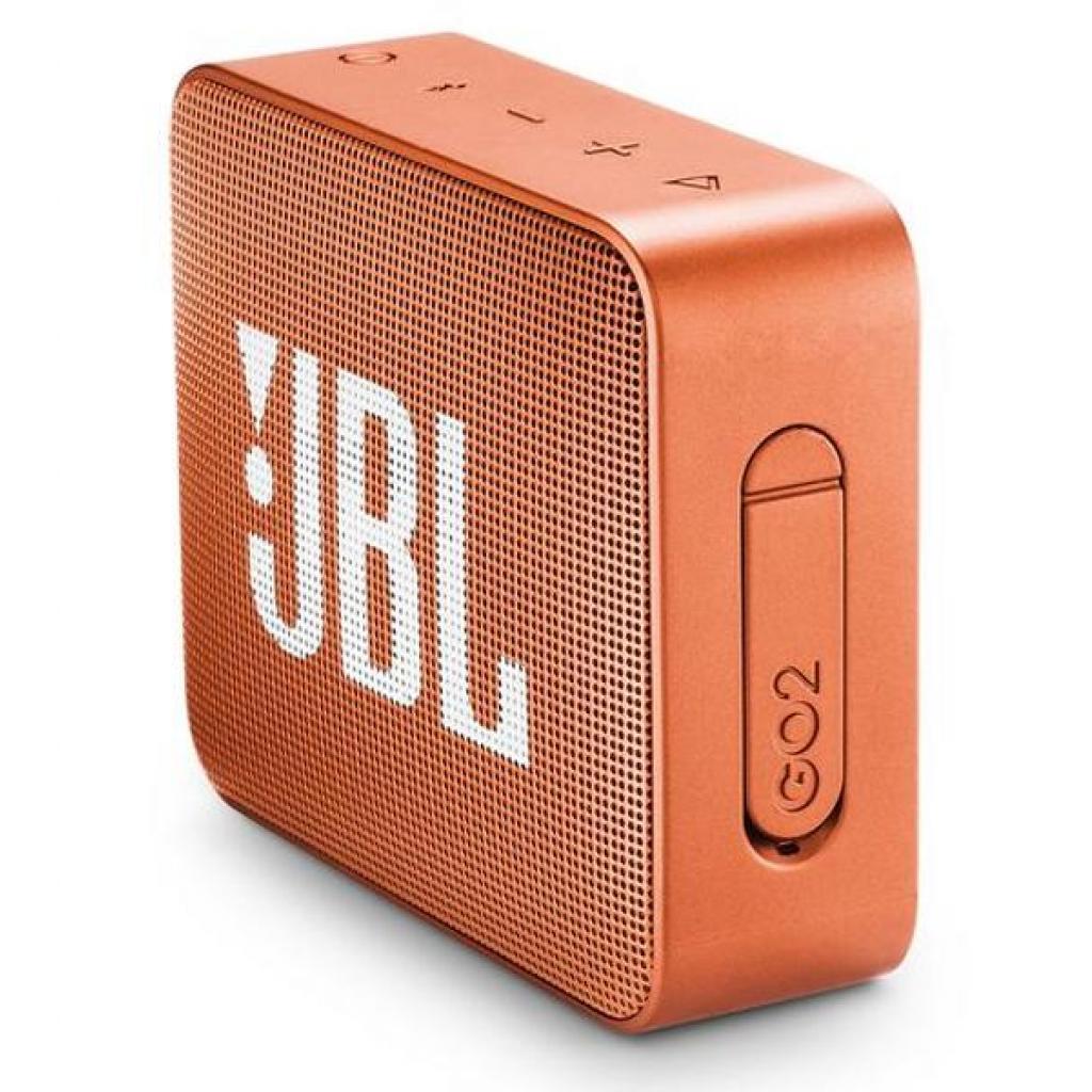 Акустическая система JBL GO 2 Orange (JBLGO2ORG) изображение 3