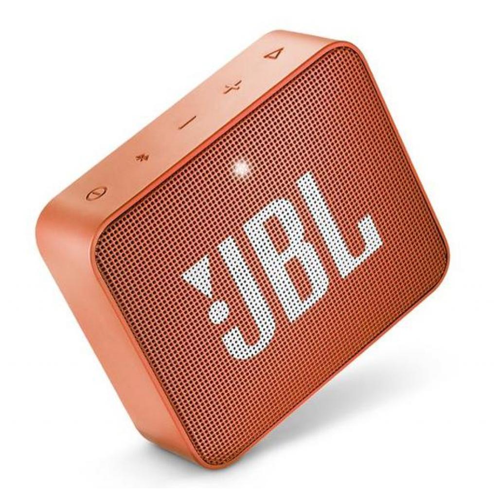 Акустическая система JBL GO 2 Orange (JBLGO2ORG) изображение 5