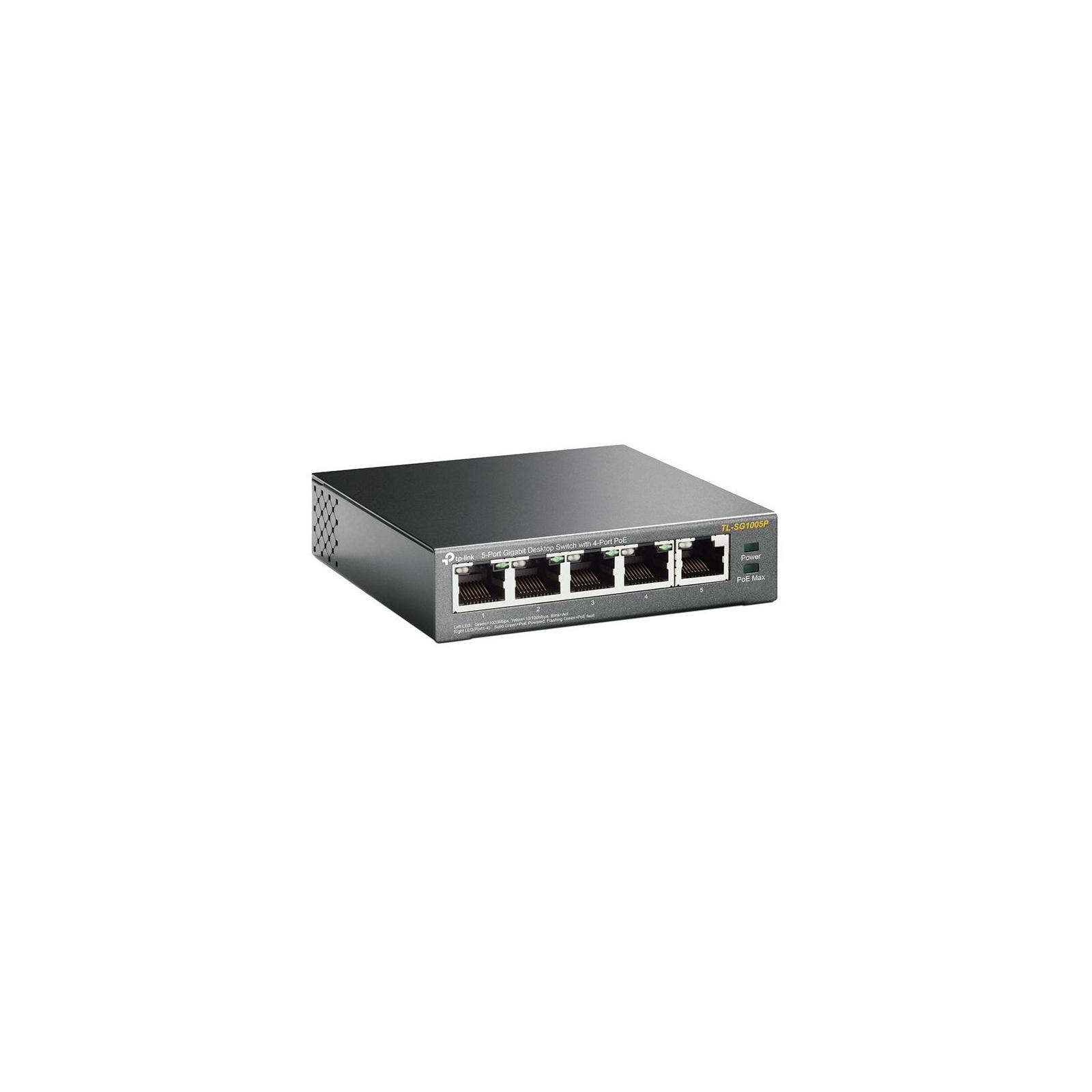 Коммутатор сетевой TP-Link TL-SG1005P изображение 2