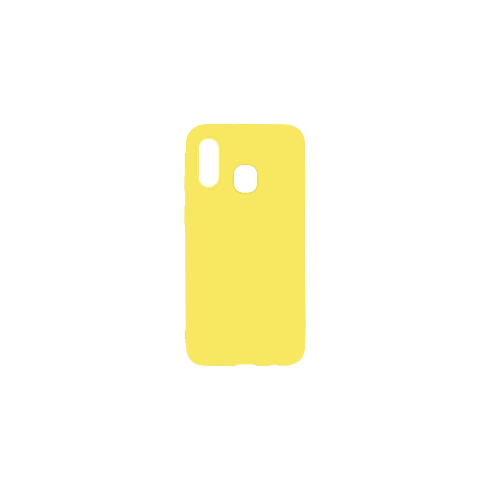 Чехол для моб. телефона Toto 1mm Matt TPU Case Samsung Galaxy A40 Yellow (F_93859)