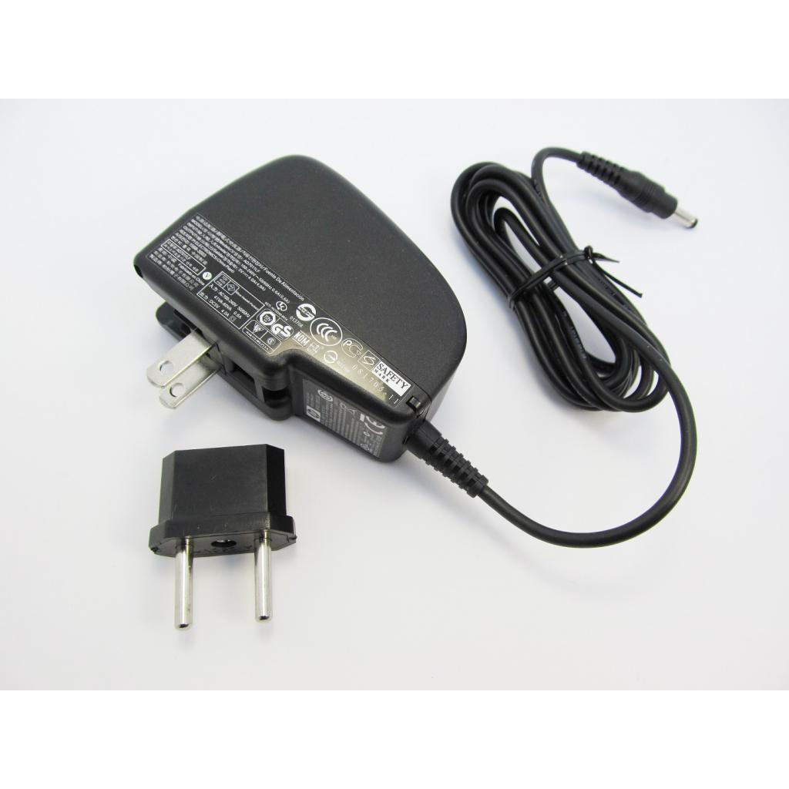 Блок питания к ноутбуку HP 20W 5V, 4A, разъем 4.0/1.7, wall mount (AD7011LF / A40260) изображение 2