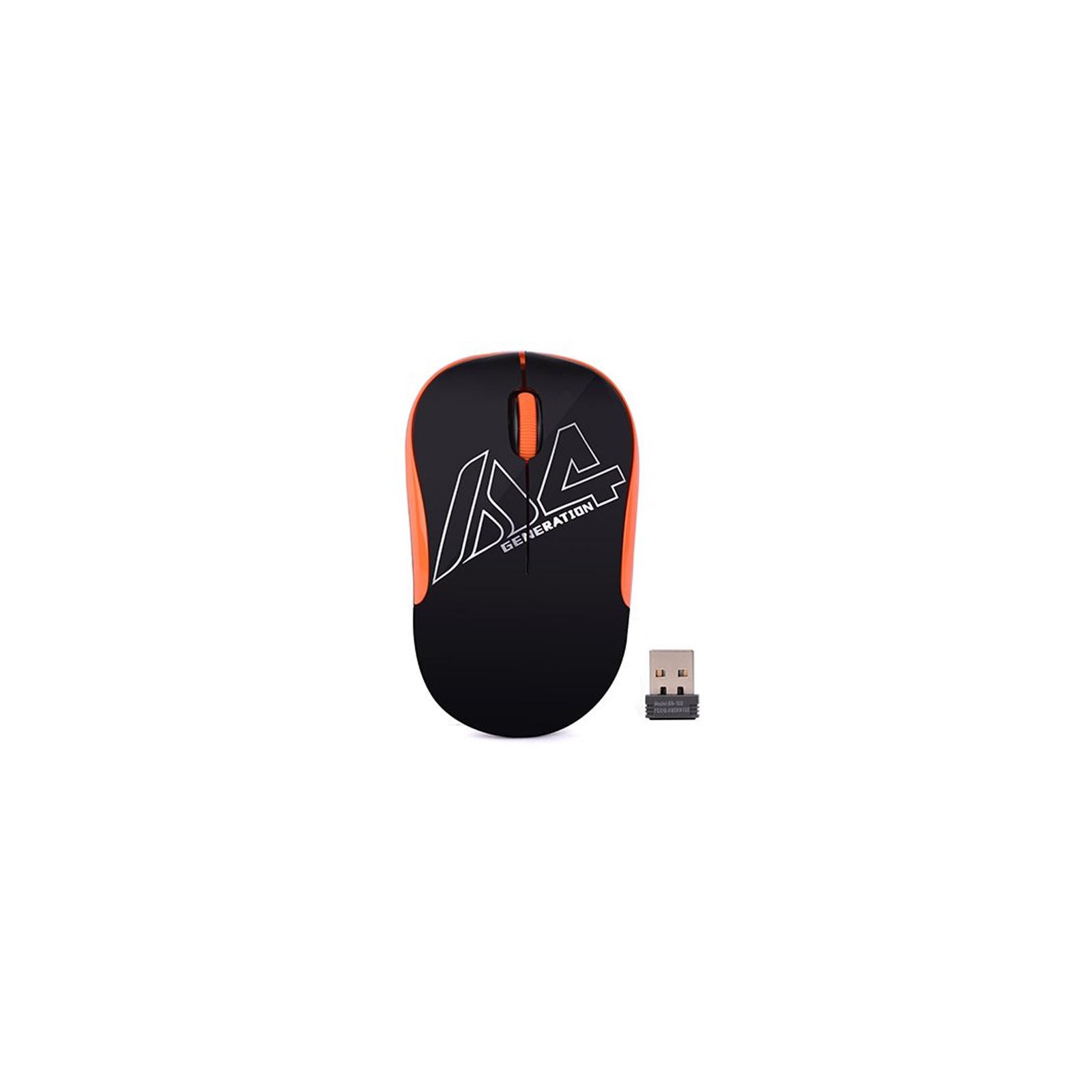 Мышка A4Tech G3-300N Black+Orange изображение 2