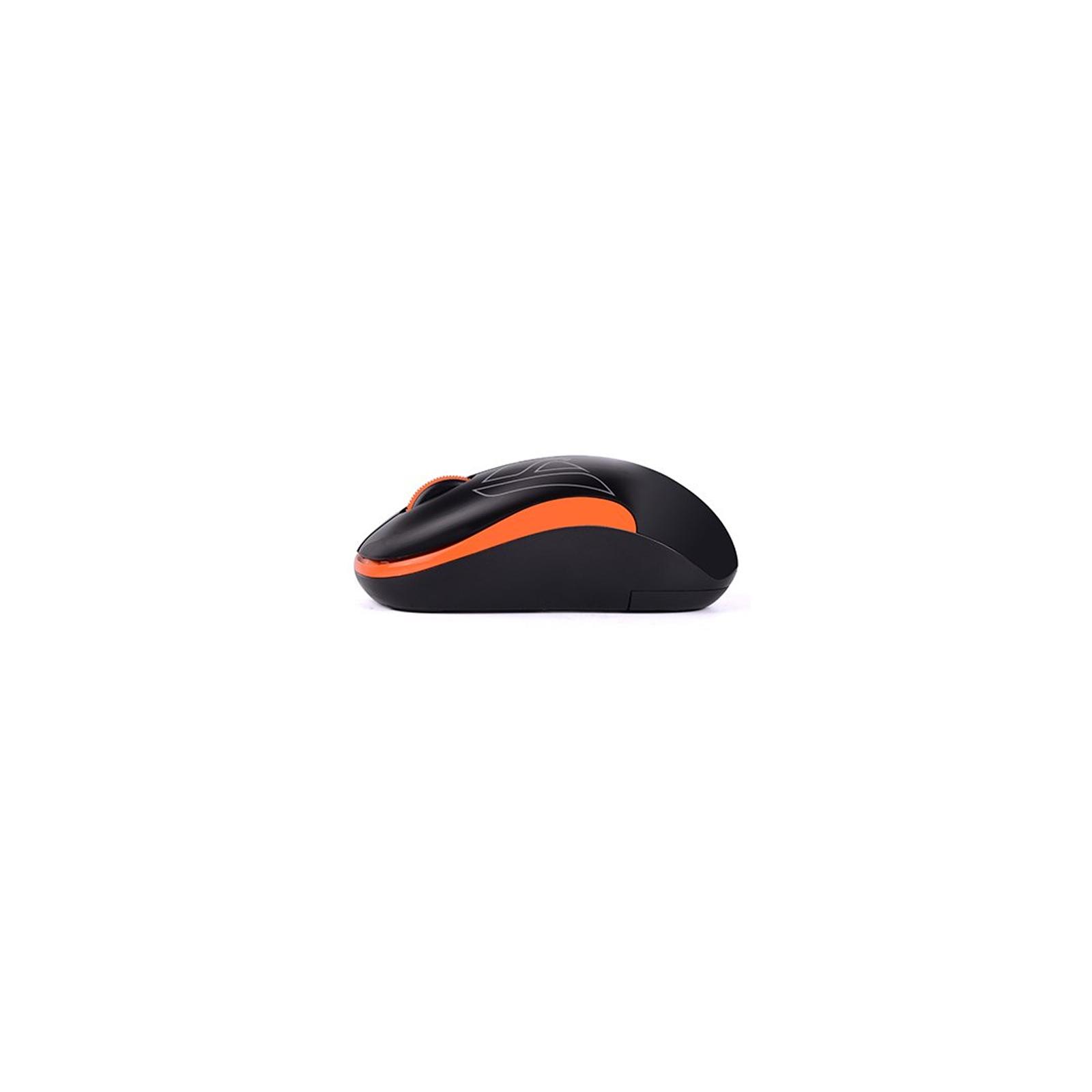 Мышка A4Tech G3-300N Black+Orange изображение 3