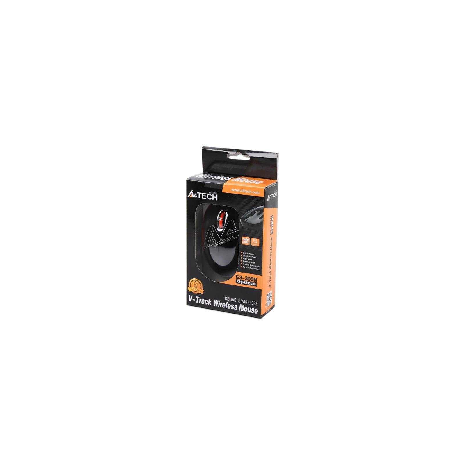 Мышка A4Tech G3-300N Black+Orange изображение 6