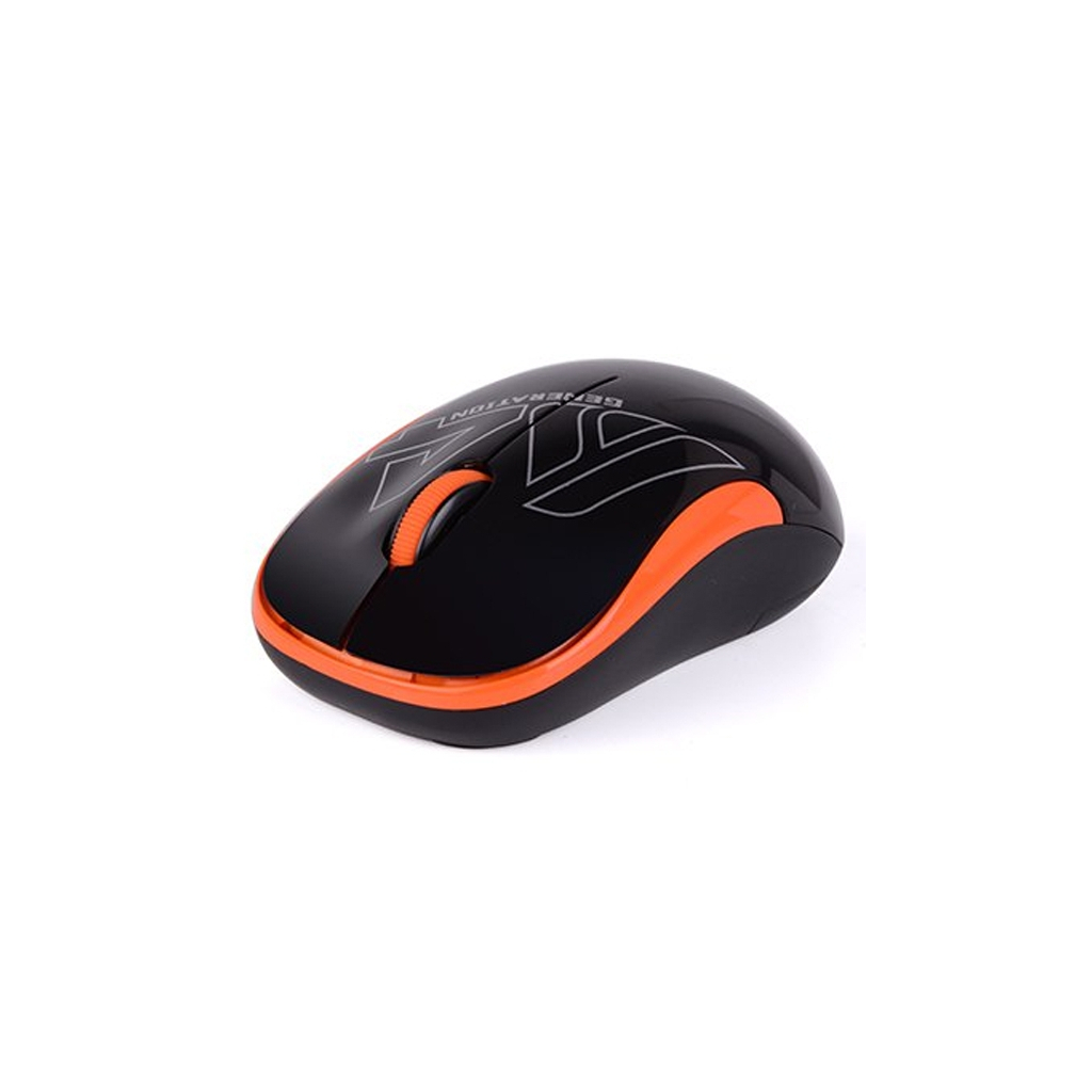 Мышка A4Tech G3-300N Black+Orange