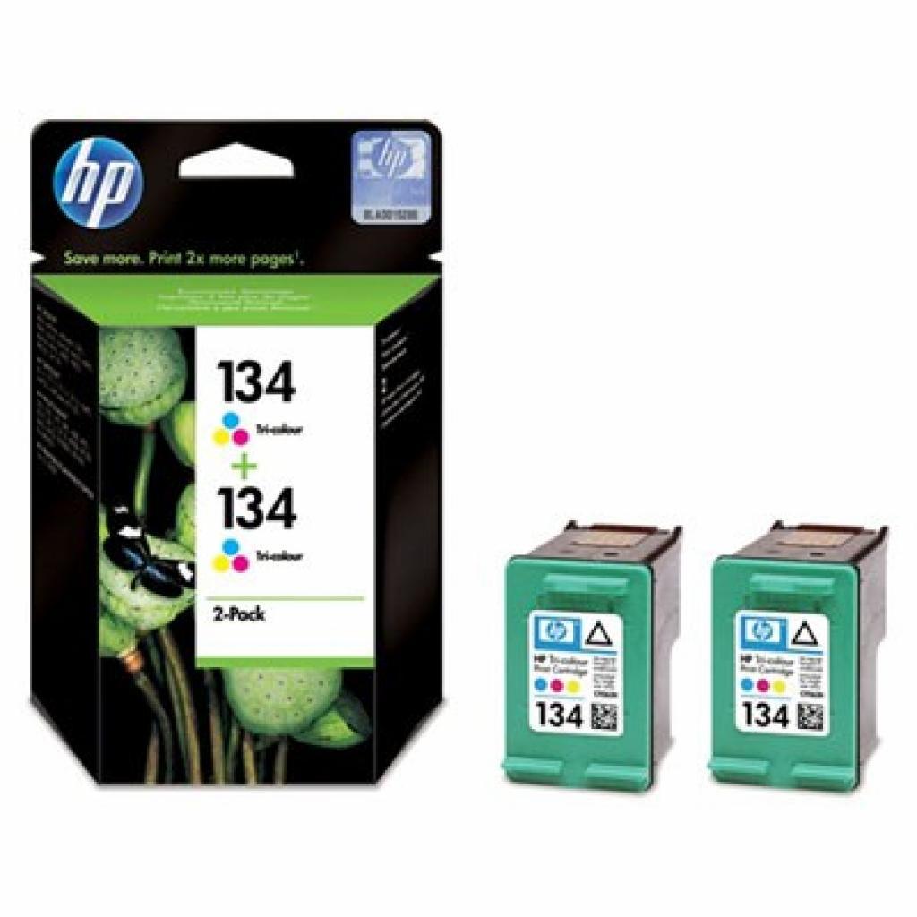 Картридж HP DJ No.134 Color (2хC9363HE) (C9505HE)