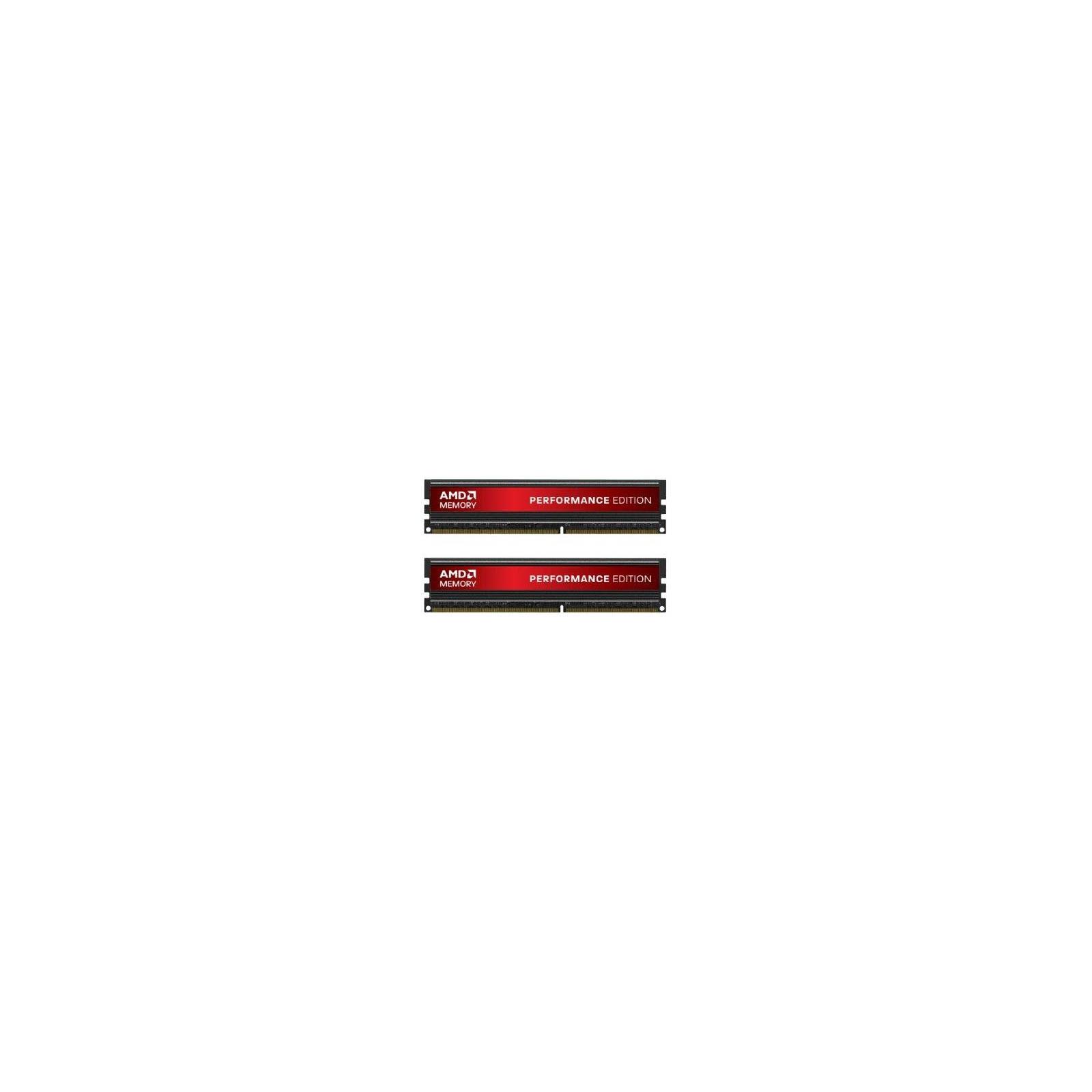 Модуль памяти для компьютера DDR3 8GB (2x4GB) 1600 MHz AMD (AP38G1608U2K)