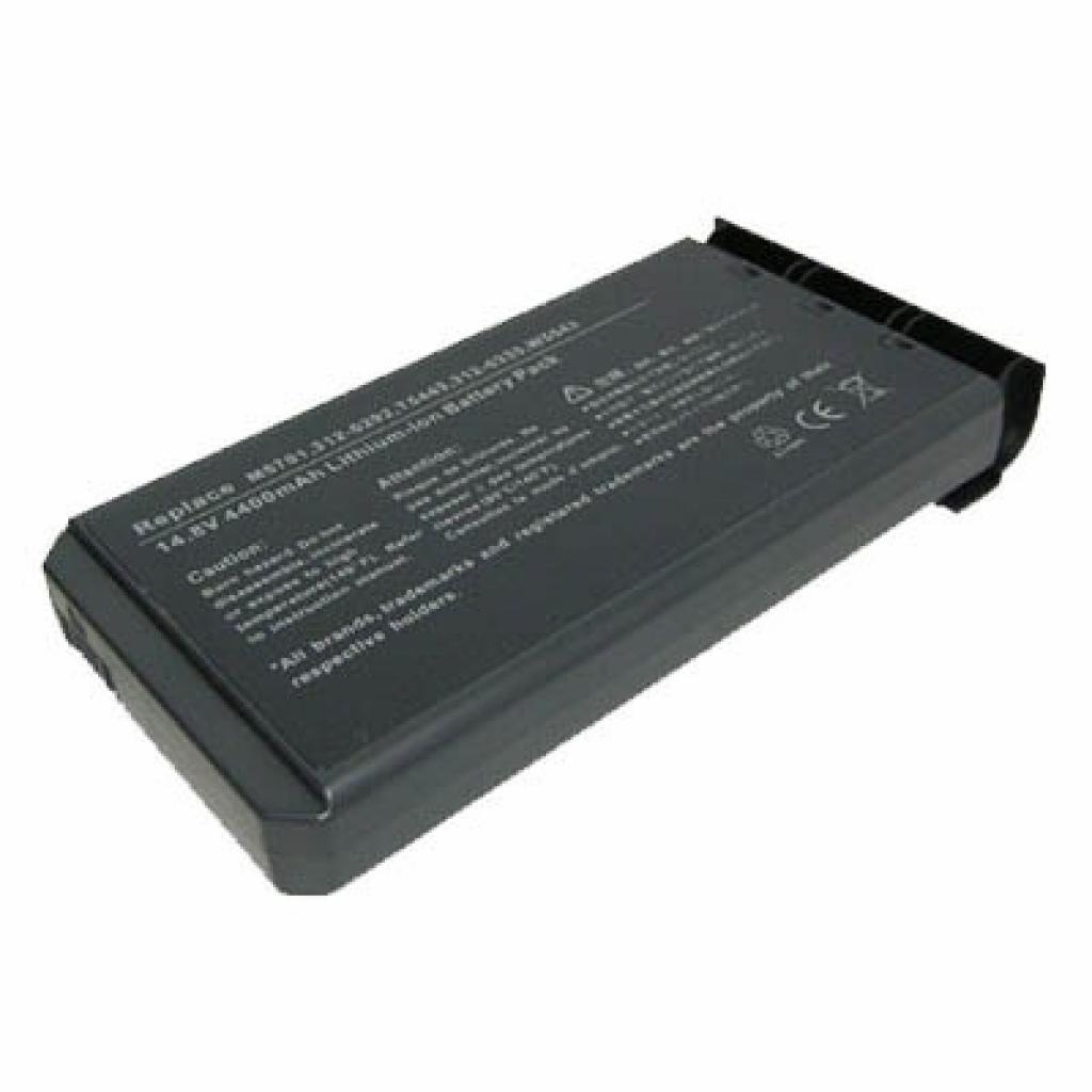 Аккумулятор для ноутбука Dell M5701 Inspiron 2200 BatteryExpert (M5701 L 52)