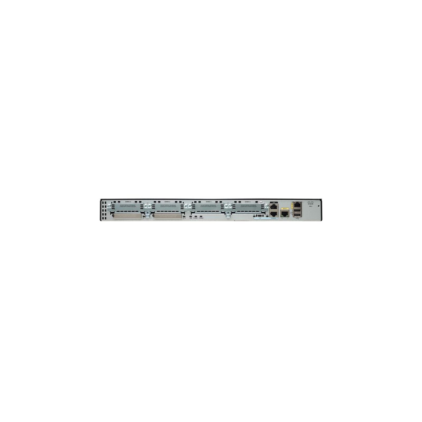 Маршрутизатор Cisco CISCO2901 (C2901-VSEC/K9) изображение 2