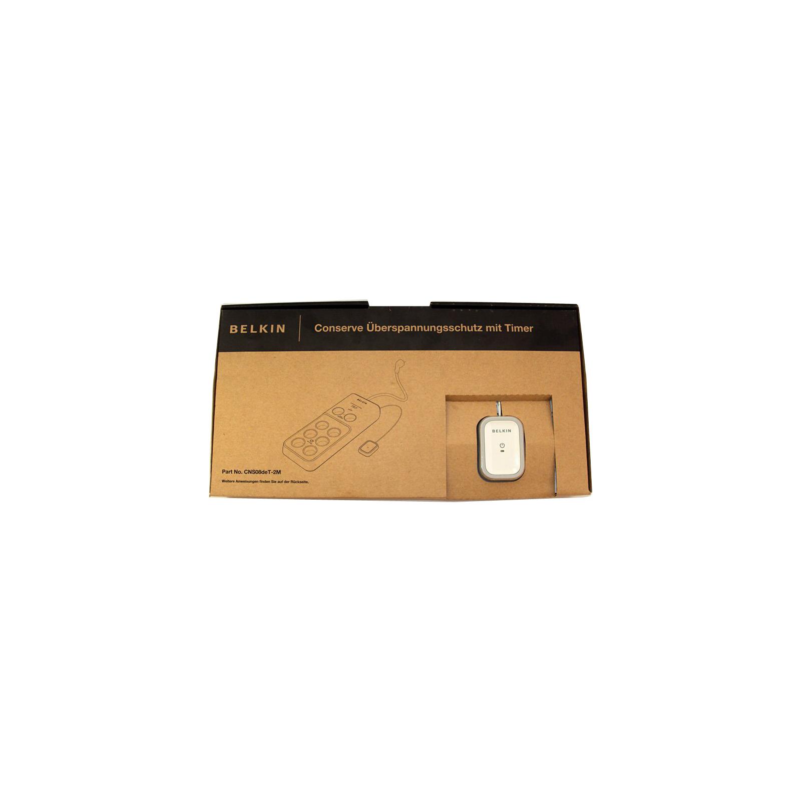 Сетевой фильтр питания Belkin Conserve 2.0м (CNS08deT-2M) изображение 4