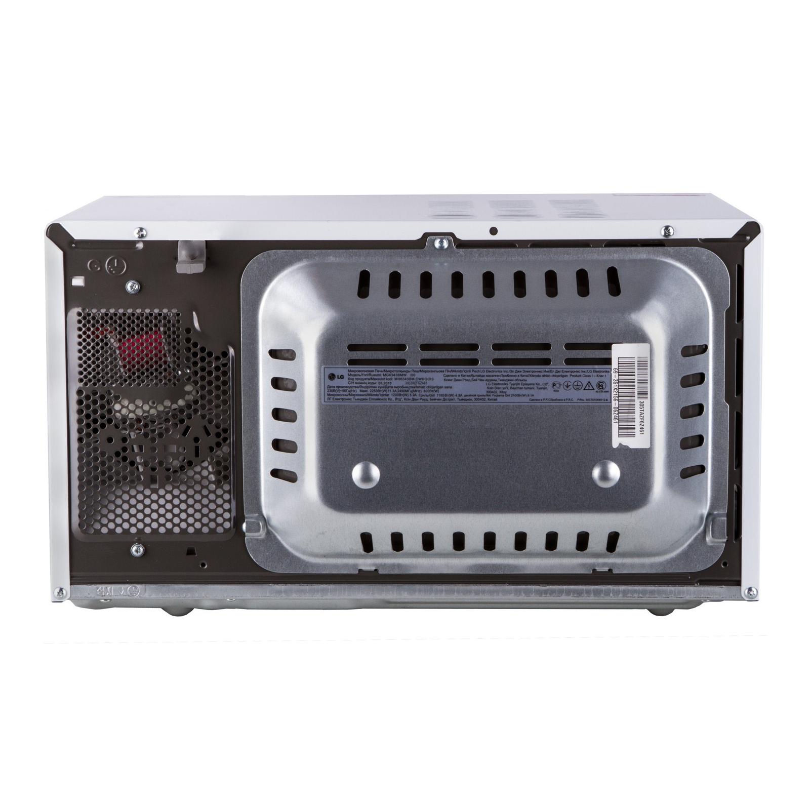 Микроволновая печь LG MG-6343BMW (MG6343BMW) изображение 3