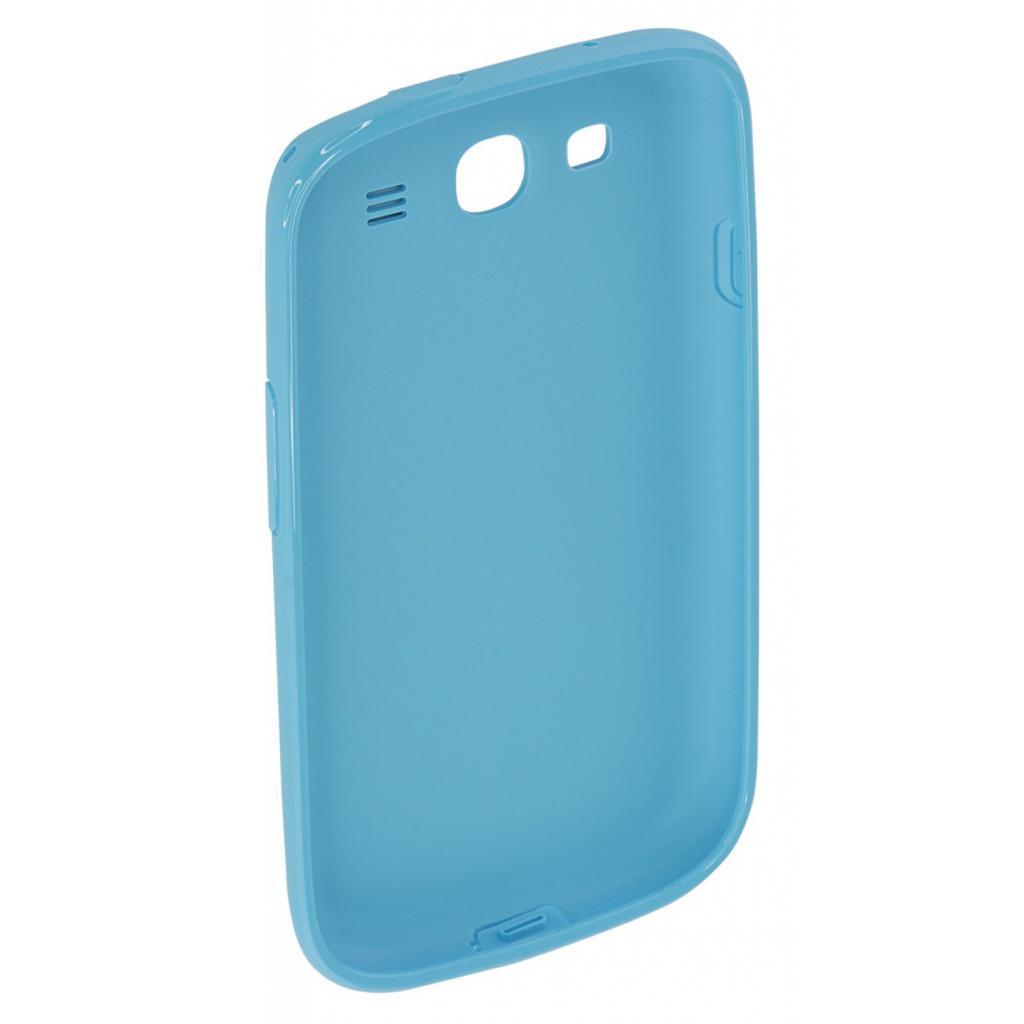 Чехол для моб. телефона Samsung I9300 Galaxy S3/Light Blue/накладка (EFC-1G6PLECSTD) изображение 2