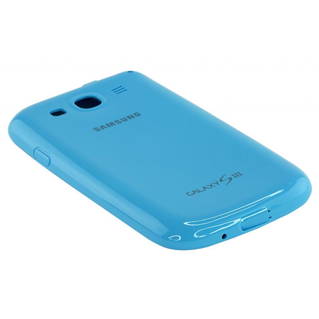 Чехол для моб. телефона Samsung I9300 Galaxy S3/Light Blue/накладка (EFC-1G6PLECSTD) изображение 3