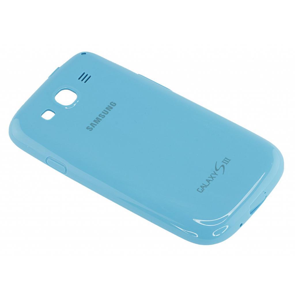 Чехол для моб. телефона Samsung I9300 Galaxy S3/Light Blue/накладка (EFC-1G6PLECSTD) изображение 5