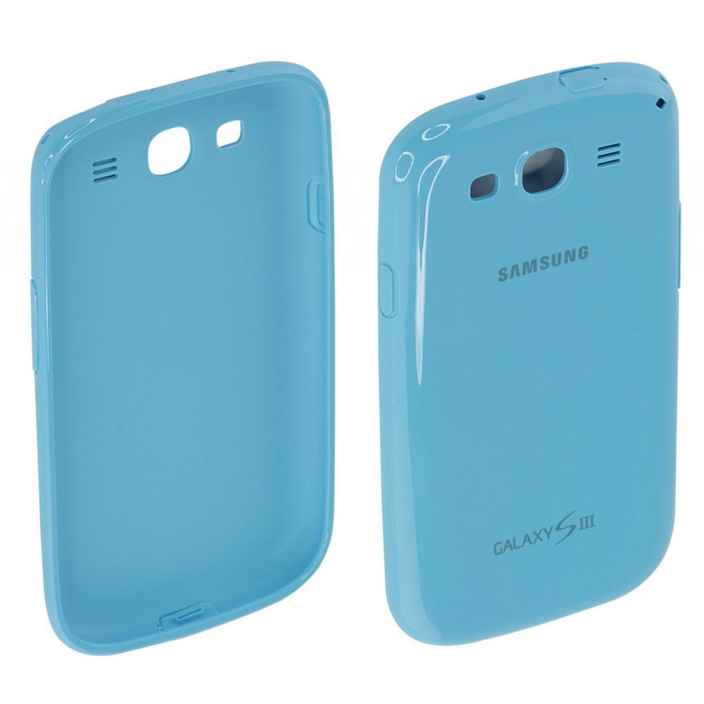 Чехол для моб. телефона Samsung I9300 Galaxy S3/Light Blue/накладка (EFC-1G6PLECSTD) изображение 6
