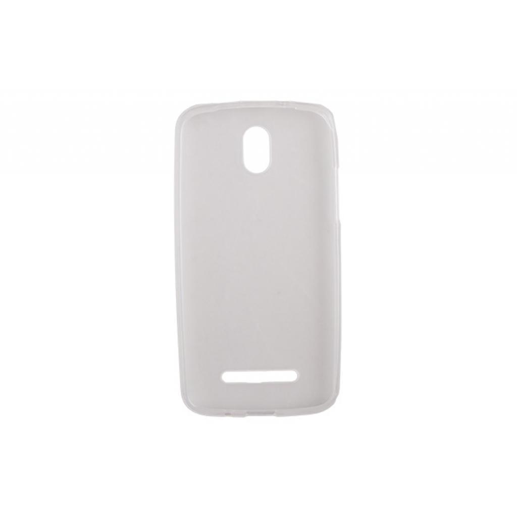 Чехол для моб. телефона Drobak для HTC Desire 500 /ElasticPU/WhiteClear (218868) изображение 2