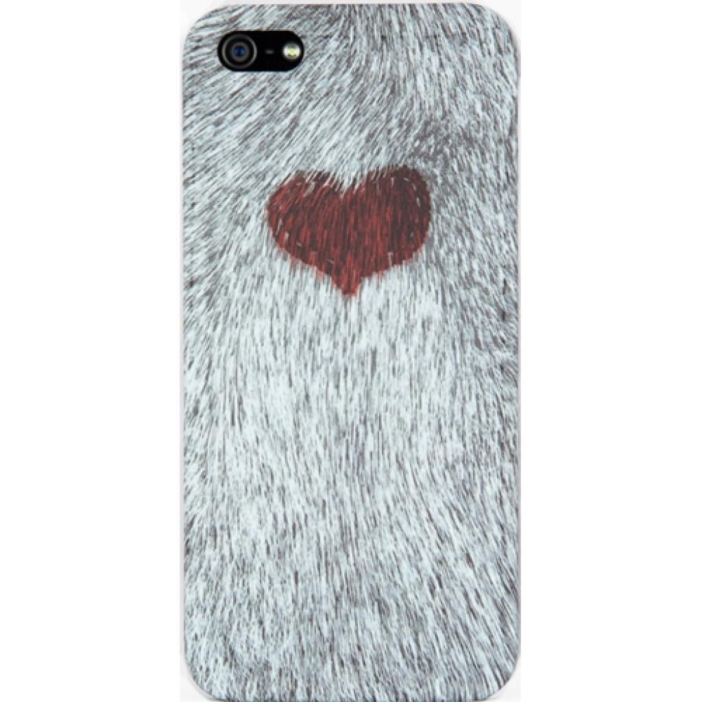Чехол для моб. телефона ODOYO iPhone 5/5s WILD ANIMAL HEART (PH358HT)