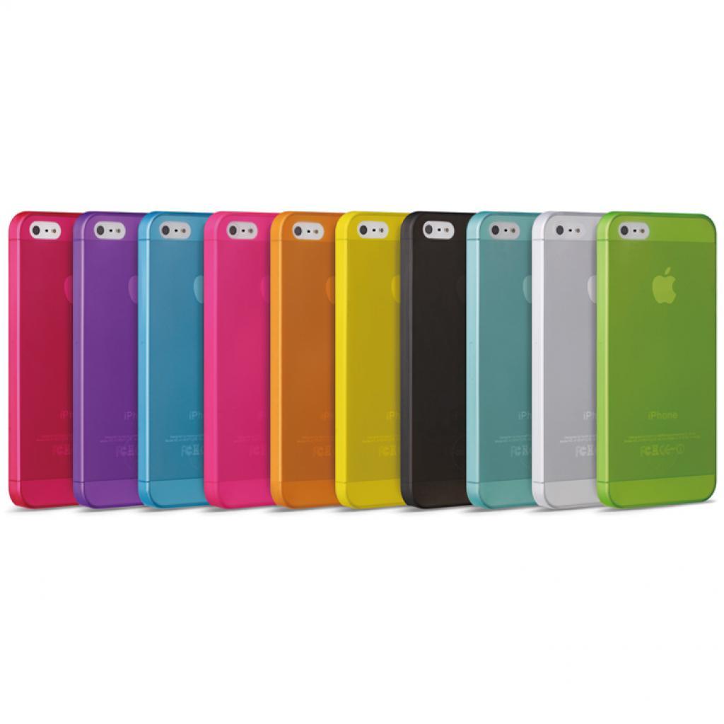 Чехол для моб. телефона OZAKI iPhone 5/5S O!coat 0.3 JELLY/Cyan (OC533CY) изображение 3