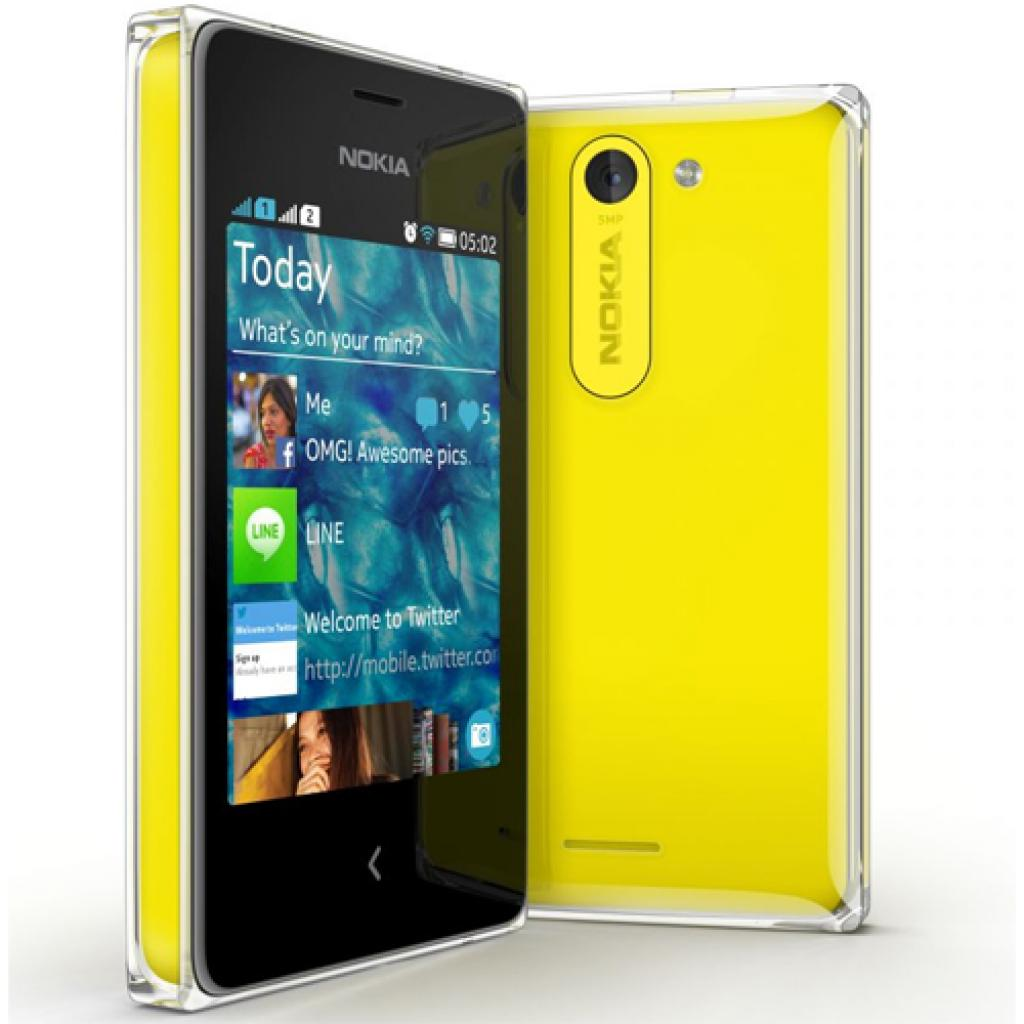 Мобильный телефон Nokia 502 (Asha) Yellow (A00015866)