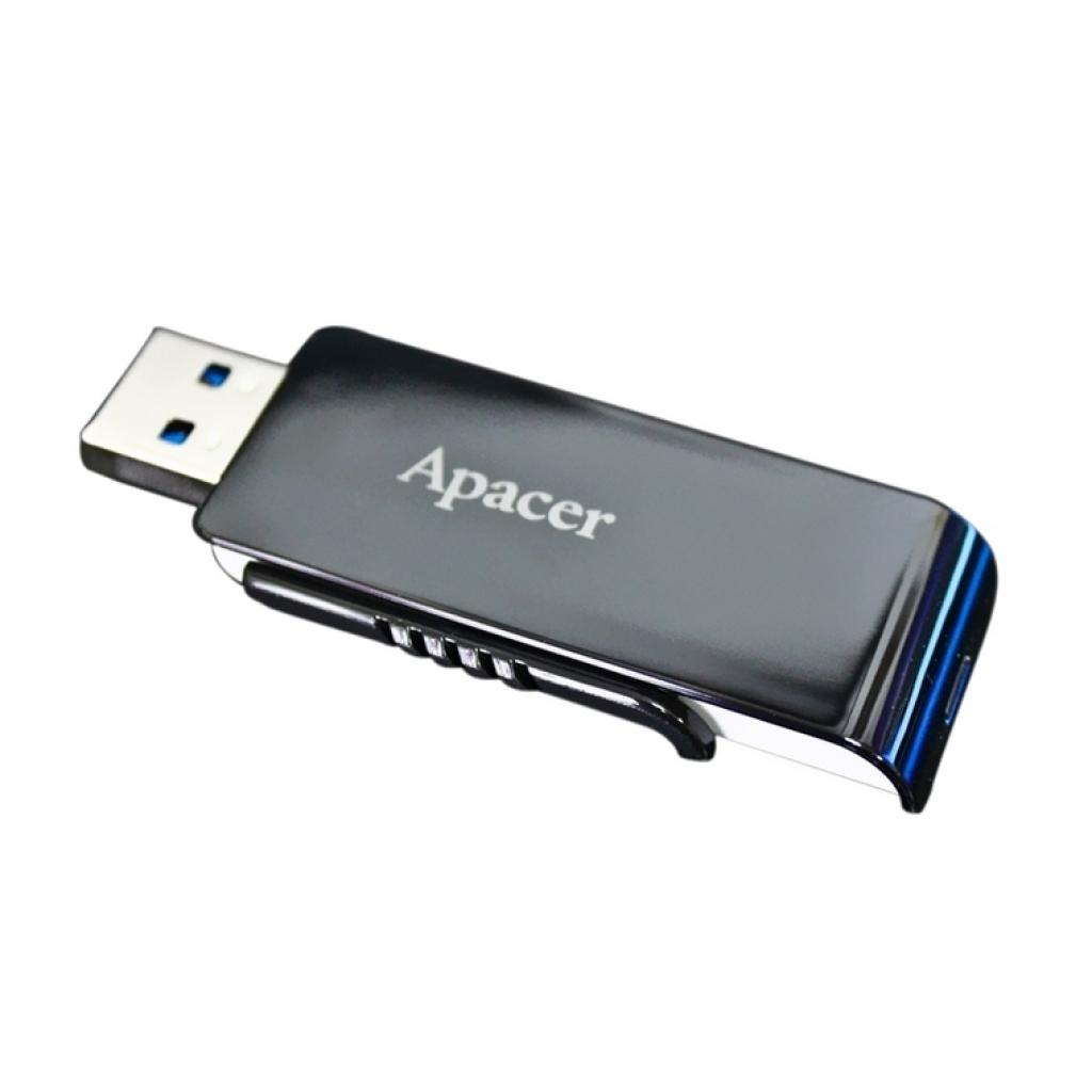 USB флеш накопитель 32GB AH350 Black RP USB3.0 Apacer (AP32GAH350B-1) изображение 9