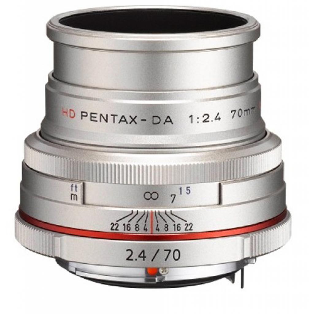 Объектив Pentax HD DA 70mm f/2.4 Limited Silver (21440) изображение 2