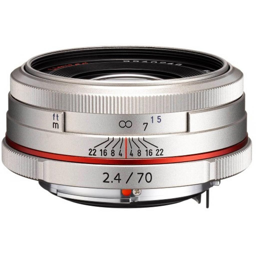 Объектив Pentax HD DA 70mm f/2.4 Limited Silver (21440)